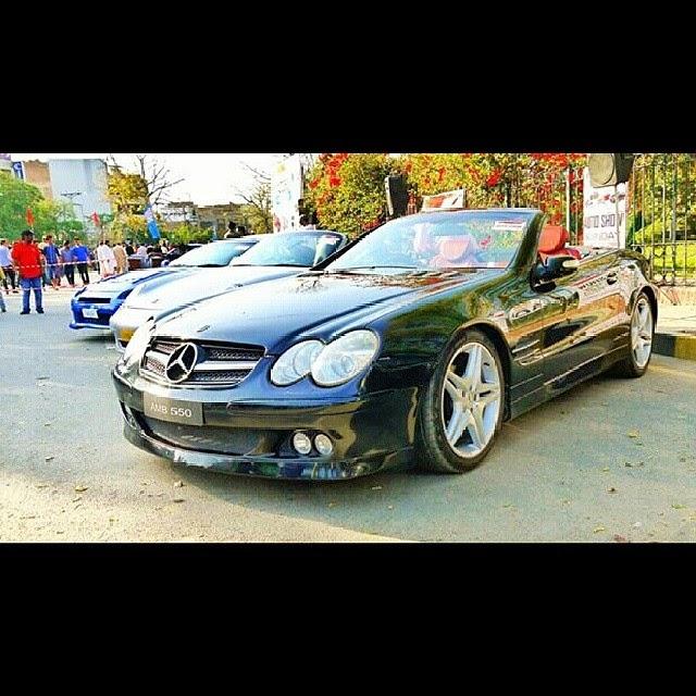 Mercedes of Sardar ayaz sadiq