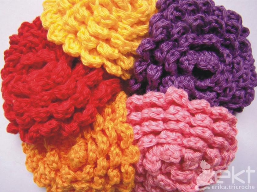 Knitting Flowers Crochet : Crochet flowers knitting gallery
