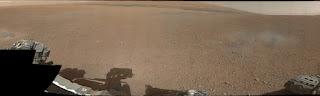 Первые цветные снимки марсохода  Curiosity с места приземления