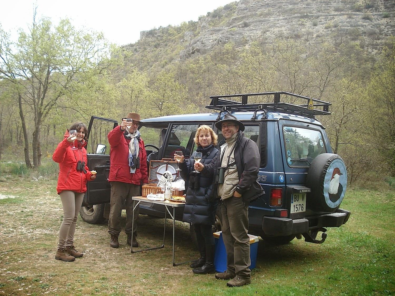 Mezcla de aves en el Alto Ebro