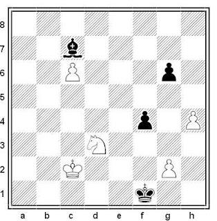 Problema ejercicio de ajedrez número 715: Lomov - Karnukov (URSS, 1982)