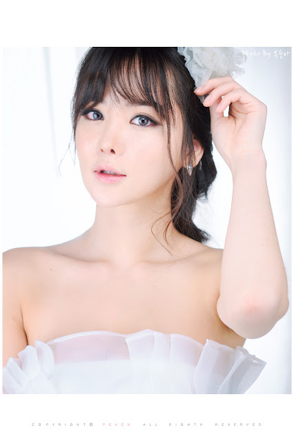 5 Im Ji Hye in Wedding Dress - very cute asian girl - girlcute4u.blogspot.com