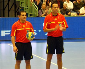 Nilson - Rogerio, árbitros de Brasil en Qatar 2015 | Mundo Handball