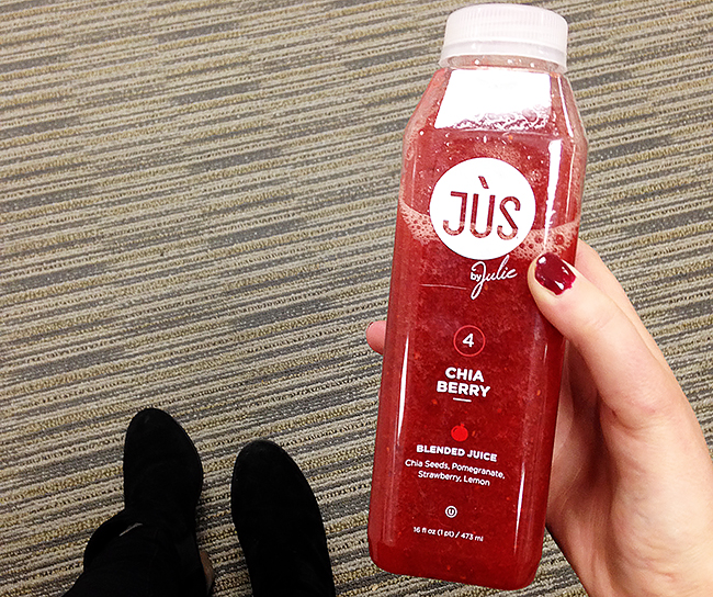Chia Berry Juice from Jus By Julie