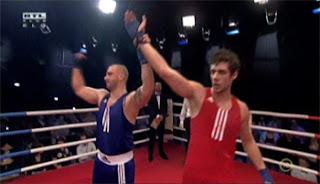 Gergő és Csaba a mérkőzés végén