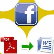 Convert PDF ke MS Word menggunakan Facebook
