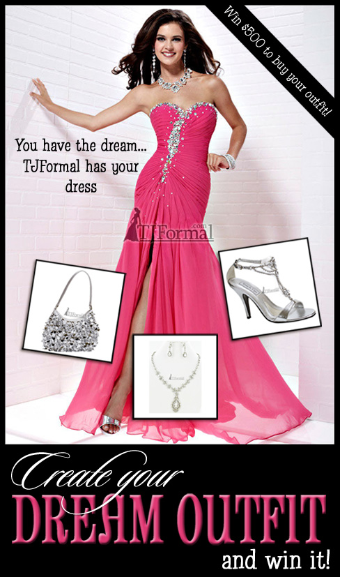 TJ Formal Dress Blog: Win your prom dress! Enter our Dream Outfit ...