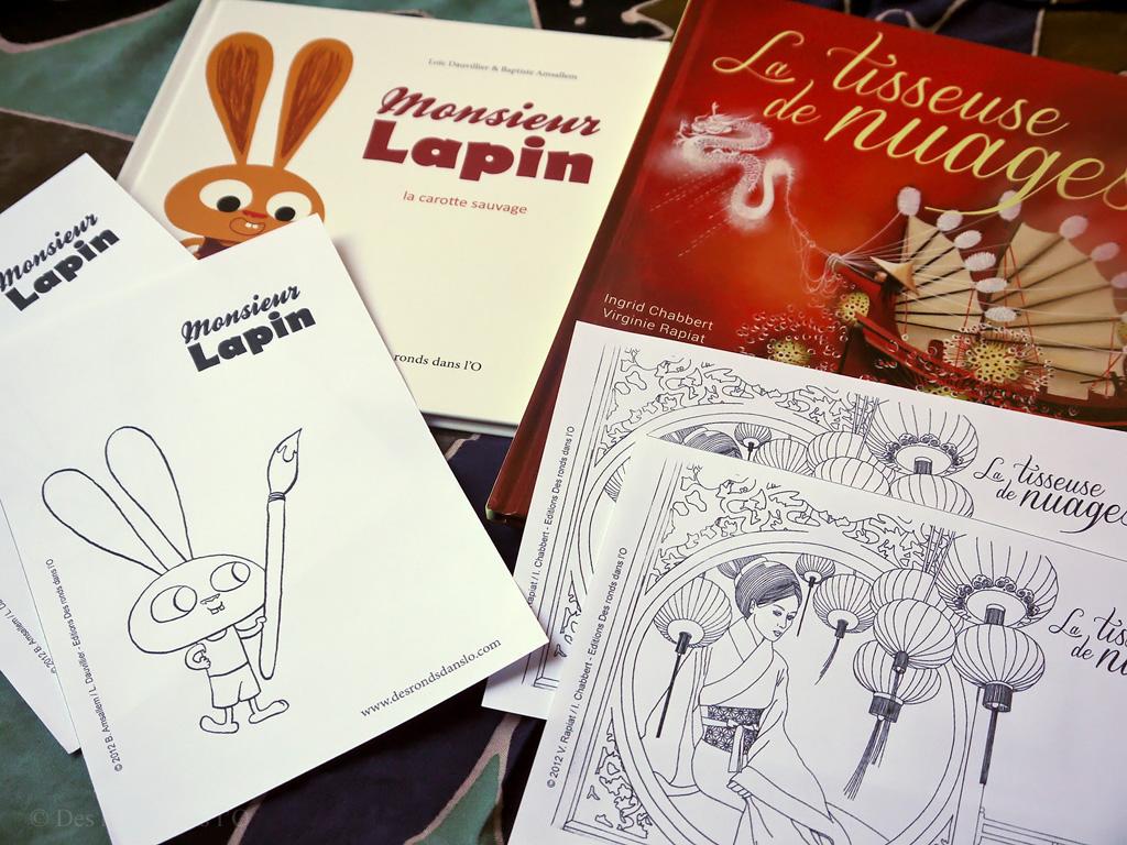 Coloriage Lapin en ligne ou à imprimer - coloriage lapin à imprimer