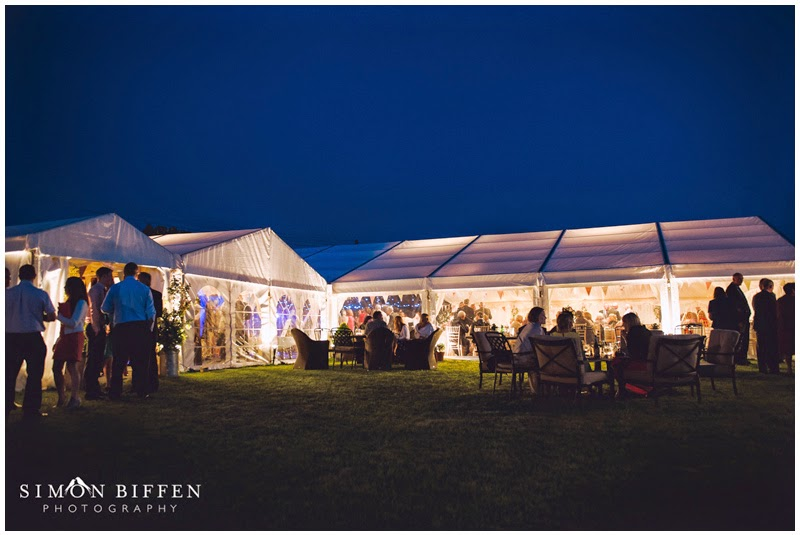 night time marquee somerset farm wedding