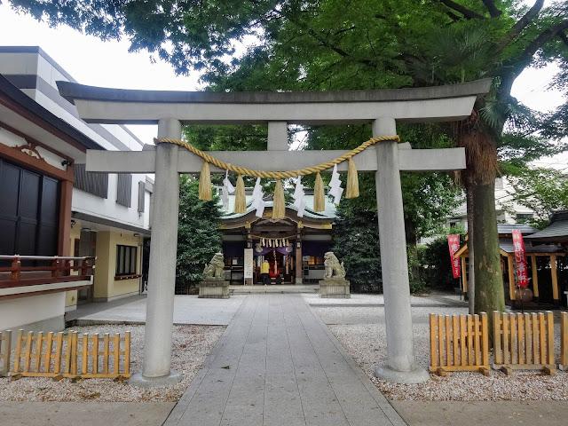 大鳥神社,第二鳥居,拝殿,雑司が谷〈著作権フリー無料画像〉Free Stock Photos