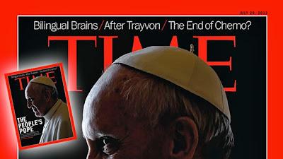 La revista 'Time' le pone 'cuernos' al papa: ¿Portada premeditada o simple casualidad?