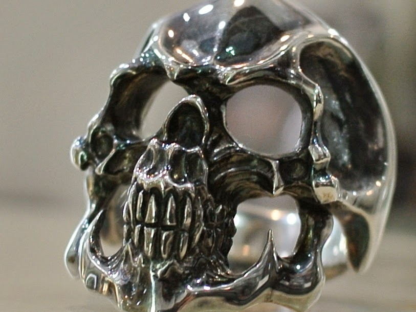 Strange Freak Designs - Grigori Skull Ring