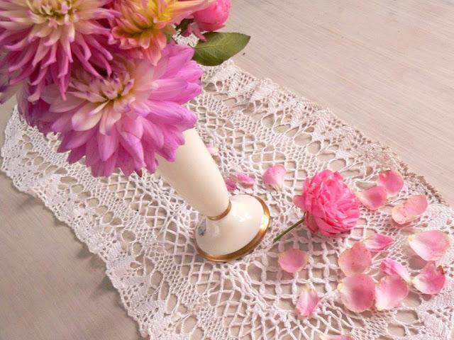Dahlien Blumen Blumenstrauß