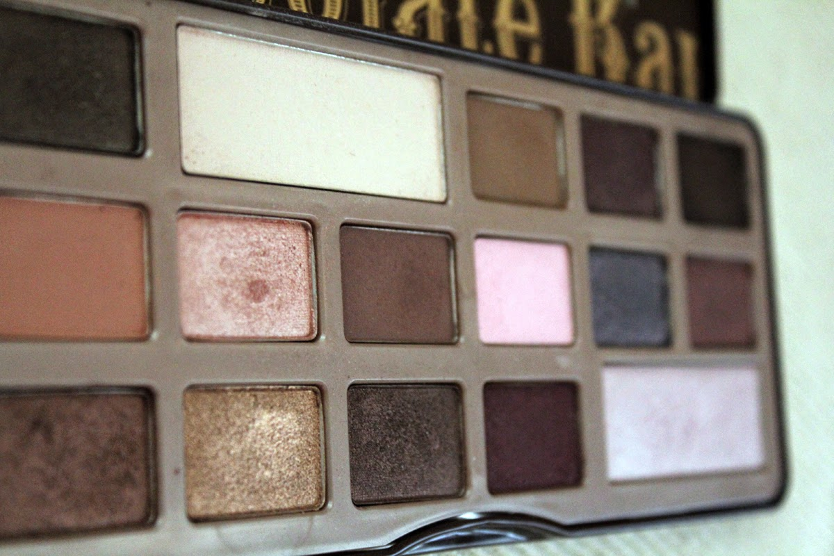 eyeshadow palette Chocolate bar от Too faced
