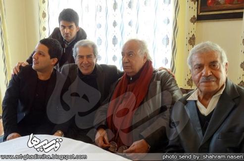 قدیمی ها: گزارش اختصاصی قدیمی ها از دیدار ناصر ملک مطیعی و فرامرز ...