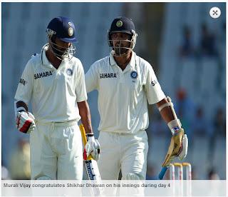 Shikhar-Dhawan-Murali-Vijay-INDIA-v-AUSTRALIA-3rd-TEST