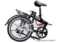 20 Inch FoldX Tokyo Suspenision Folding Bike