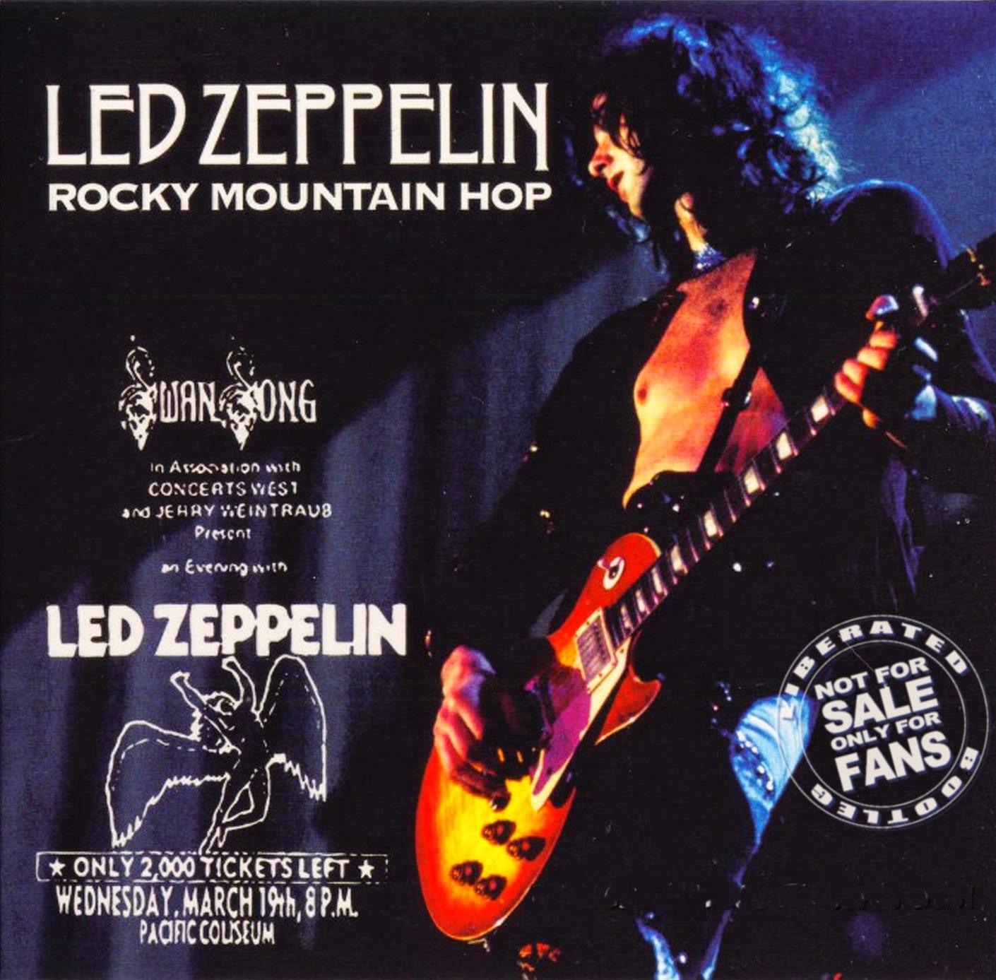 1975 - Led Zeppelin - Rocky Mountain Hop - Vancouver - Bootleg