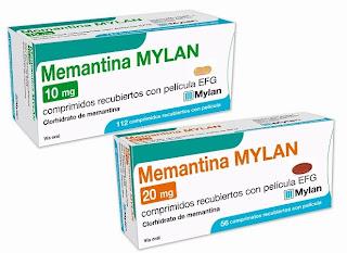 Nuevo packaging, más visual, para el lanzamiento de Memantina MYLAN EFG