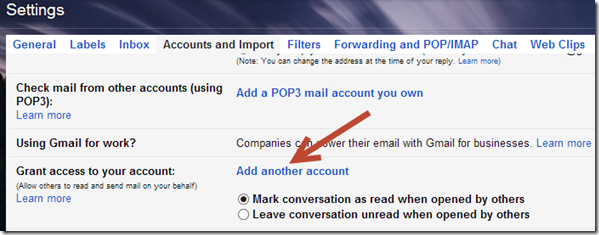 add another account how to Give Access to Your Gmail Account Without Sharing Password