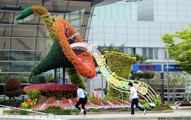 Jardín de la Estación de Tren de Suncheon