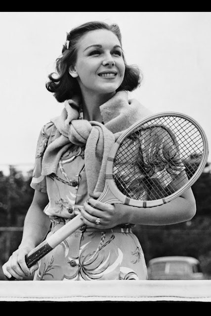 Fashionable History Tennis, Anyone Bobbins And Bombshells