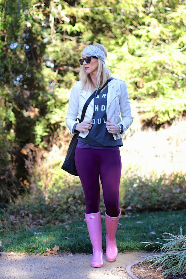 graphic sweater with leggings