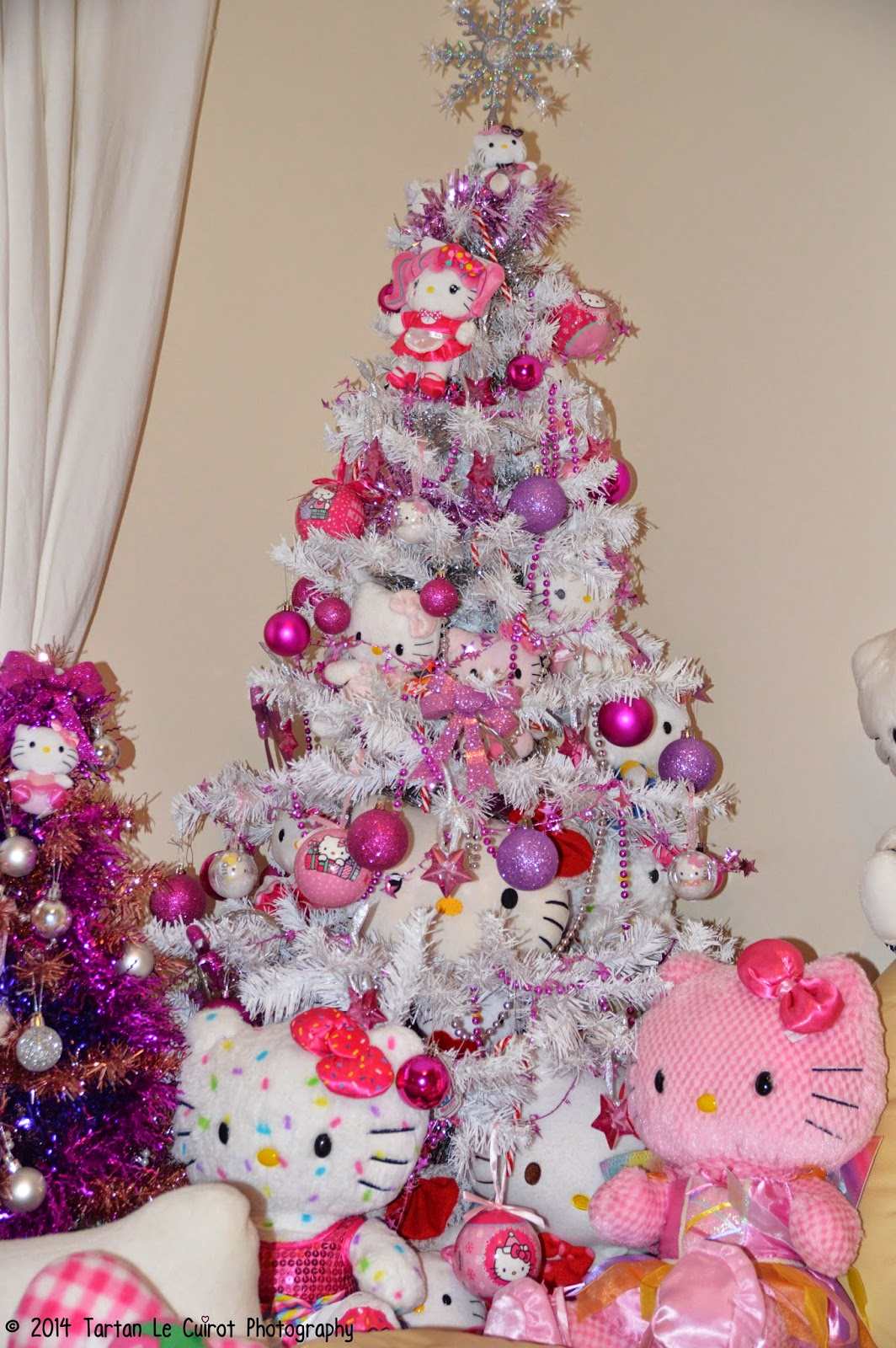 Amazing I Do A Hello Kitty Christmas Tree . This Year I Have Added More Hello  Kittys And Lots More Pink! *Image Heavy*