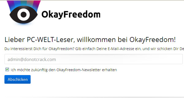 Giveaway OkayFreedom VPN Premium