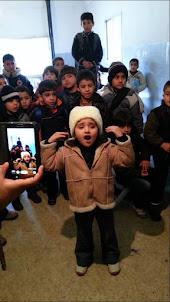 طفلة سورية تنادي الأمّة !