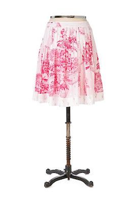Anthropologie Garden Fresh Skirt