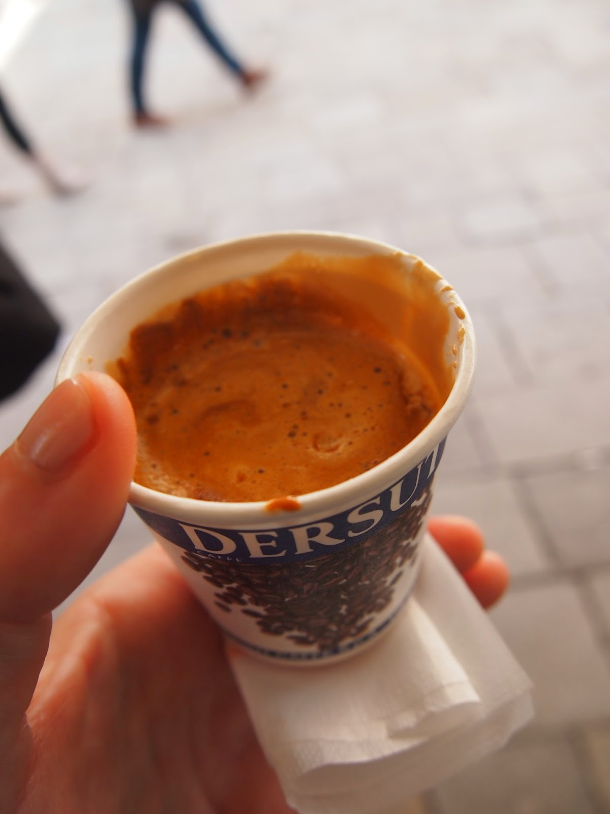 chocolate coffee in Venice, Italy