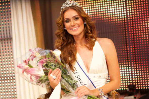 miss world sweden 2011 winner nicoline artursson