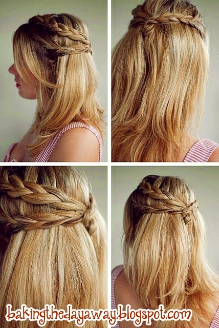 tutorial ikat rambut ala korea simple tutorial kepang