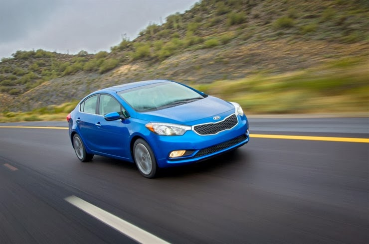 2014 Forte is new, and yes, improved