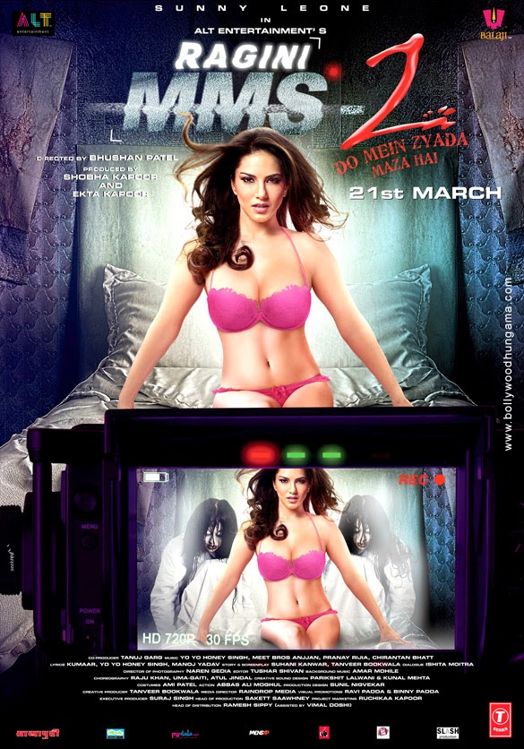 RAGINI MMS 2 FIRST LOOK POSTER FT. HOT SUNNEY LEONE