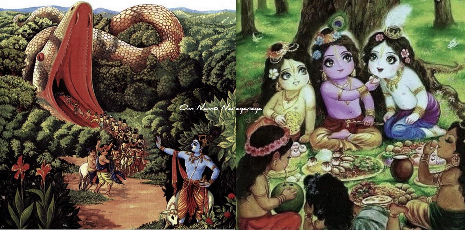 கண்ணன் கதைகள் (39) - அகாசுர வதம், கண்ணன் கதைகள், குருவாயூரப்பன் கதைகள்,