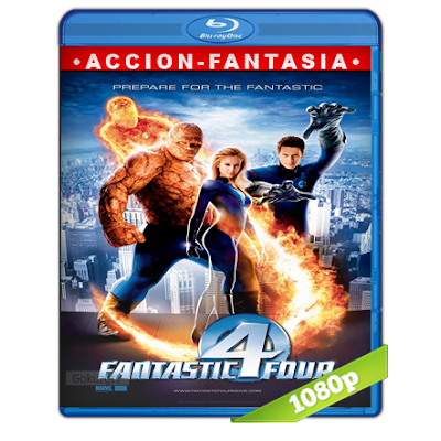 Los 4 Fantasticos (2005) BRRip Full 1080p Audio Trial Latino-Castellano-Ingles 5.1