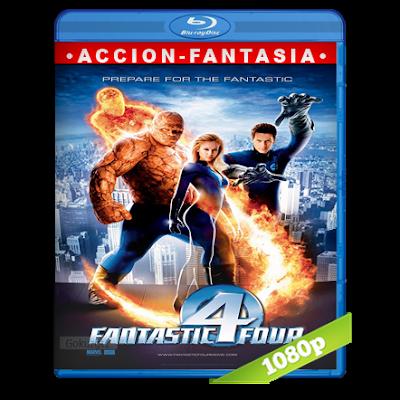 Los 4 Fantasticos (2005) BRRip Full 1080p Audio Trial Latino-Castellano-Ingles 5.1
