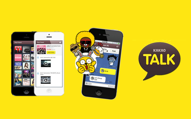 how to use kakaotalk on iphone and ipad