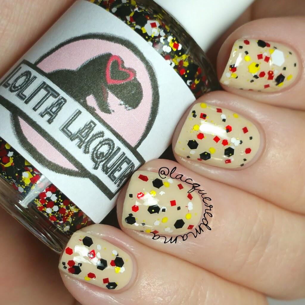 LacqueredMama: Lolita Lacquer - Jurassic Park inspired, Dino Digits ...