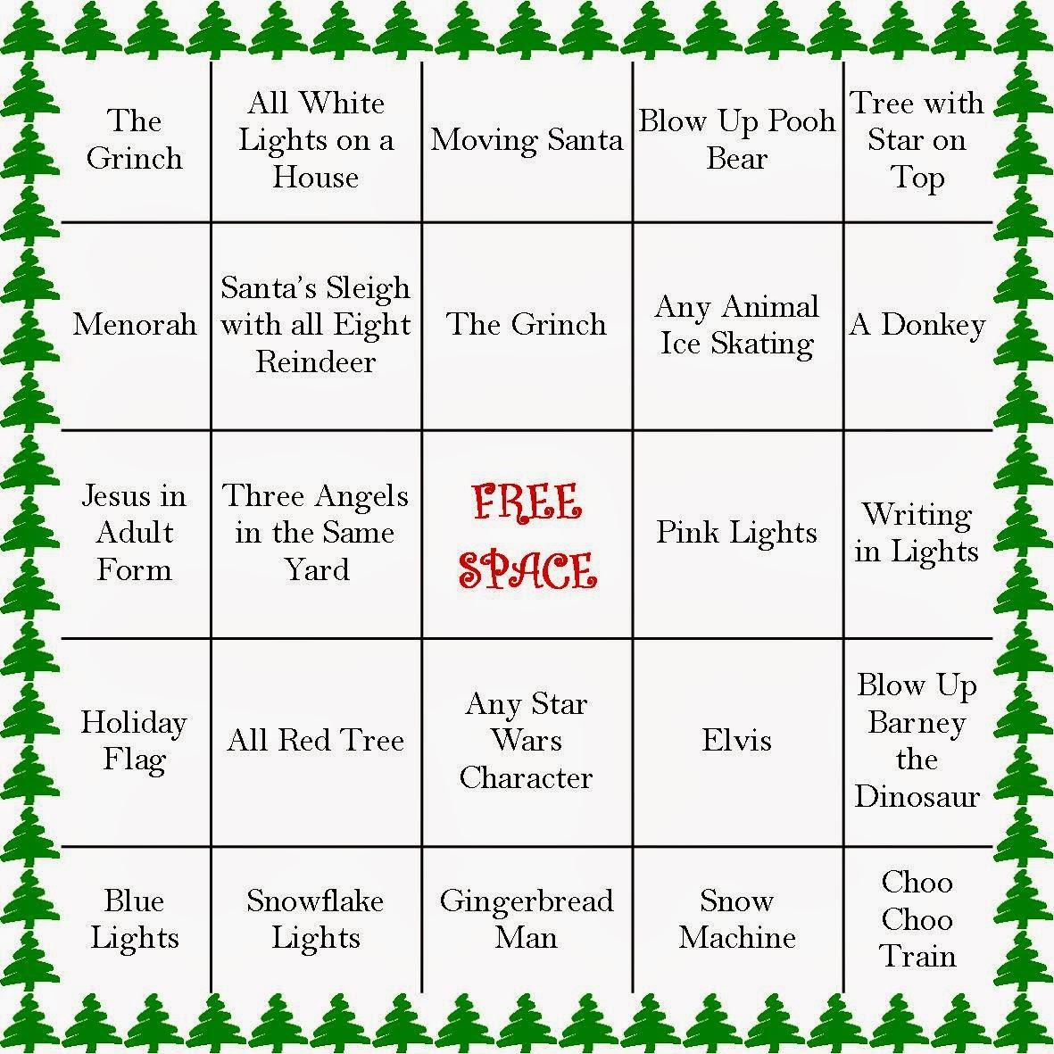Holiday Bingo Template. blank bingo card template microsoft word ...