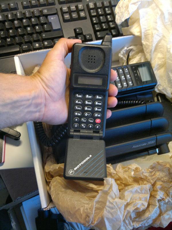NMT GSM motorola microtac classic och associate 2000