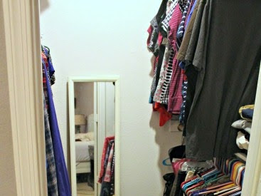 Spring Cleaning: Master Bedroom Closet
