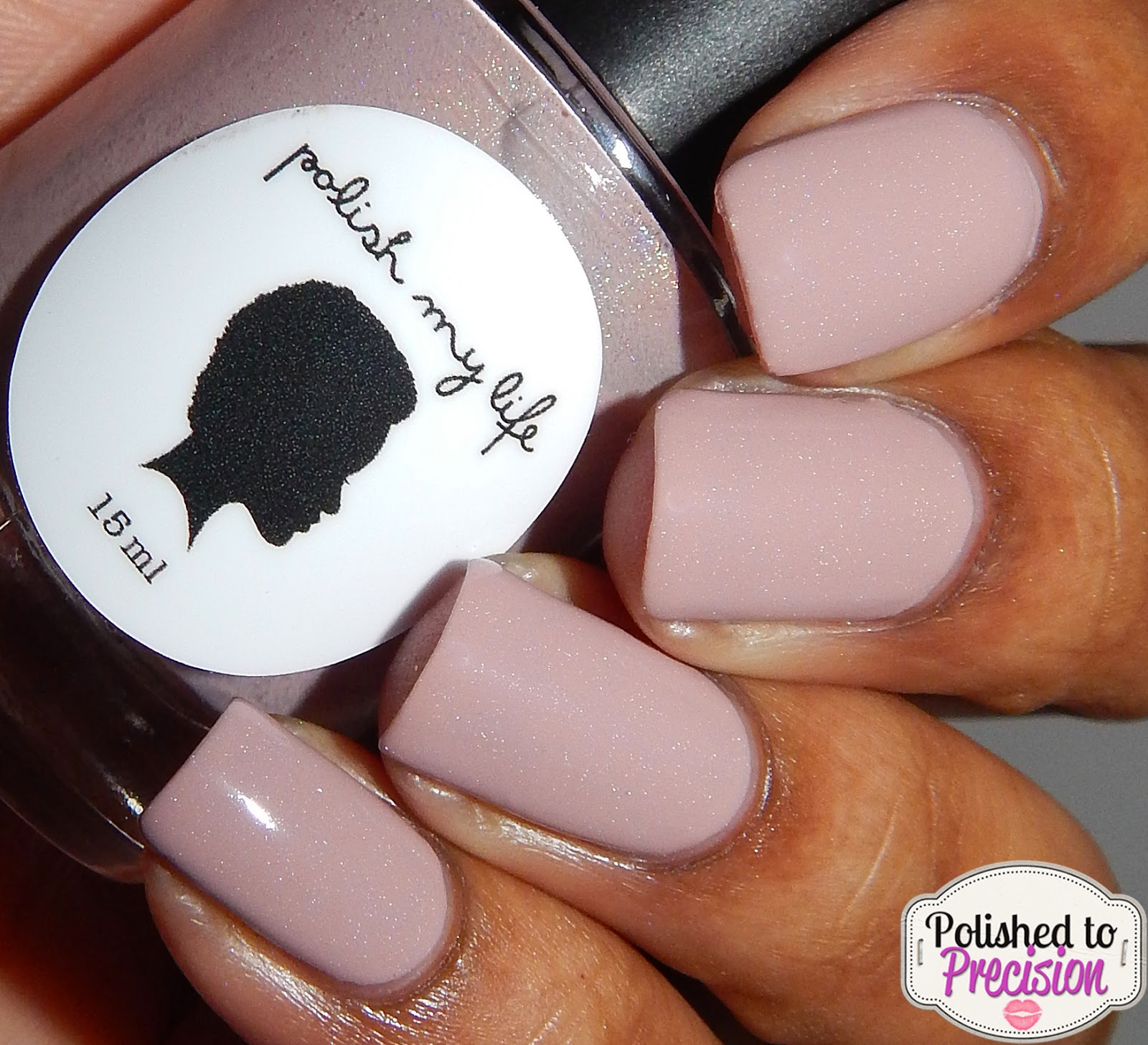 Polish My Life Mauve Rose