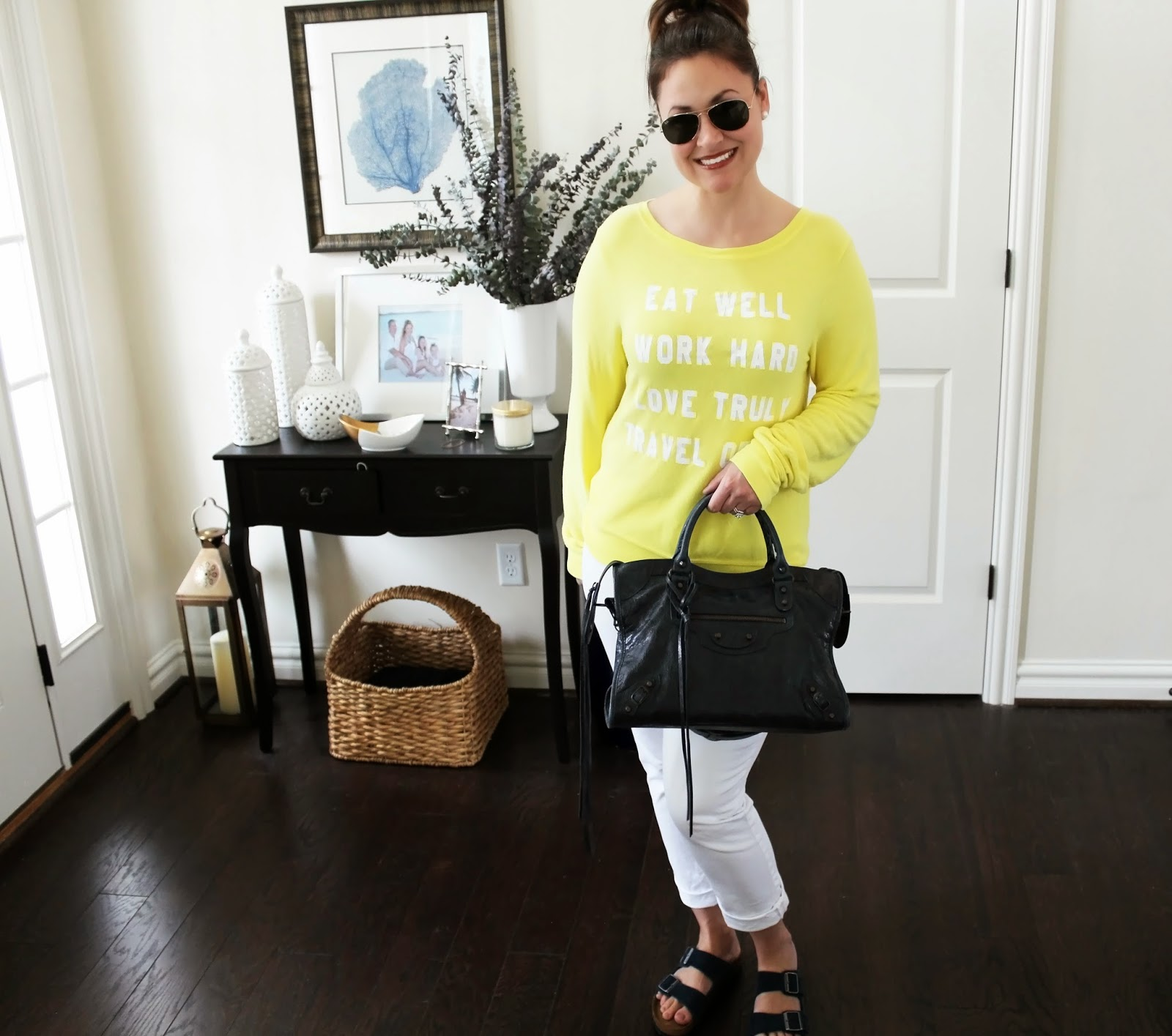 Yellow Wildfod Mantra Sweatshirt