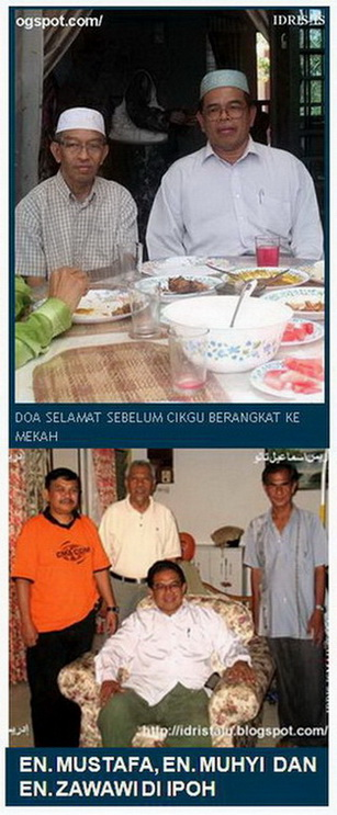 CIKGU SALLEH ISMAIL & SAHABAT DI IPOH