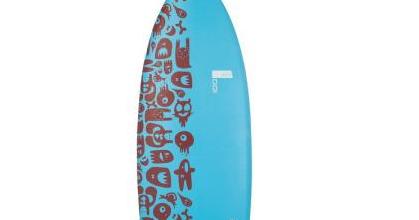 test planche de surf tribord 100 6 39 la planche id ale. Black Bedroom Furniture Sets. Home Design Ideas