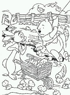 Dibujos de Winnie Pooh para Pintar, parte 3