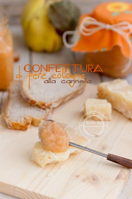 confettura di pere cotogne alla cannella